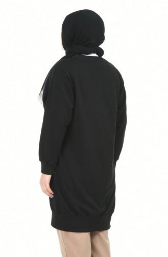 قميص رياضي أسود 3241-05