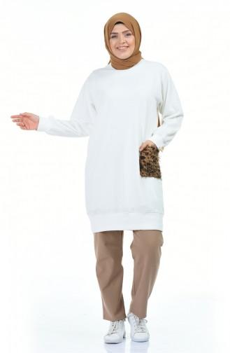 قميص رياضي أبيض 3241-06