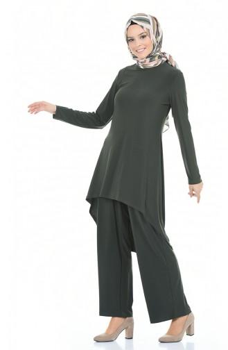Khaki Anzüge 3016-06