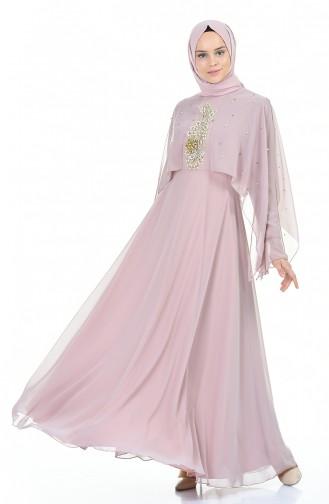 Habillé Hijab Rose Pâle 11152-05