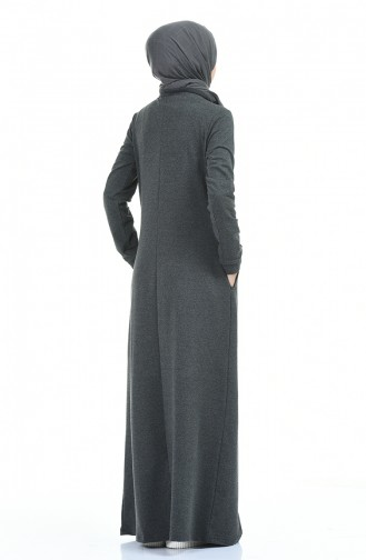Robe Hijab Antracite 9112-01