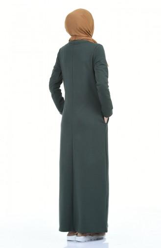 Robe Hijab Khaki 9112-04