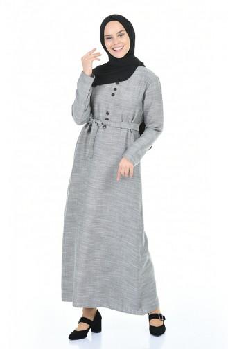 Robe Hijab Gris 6016-01