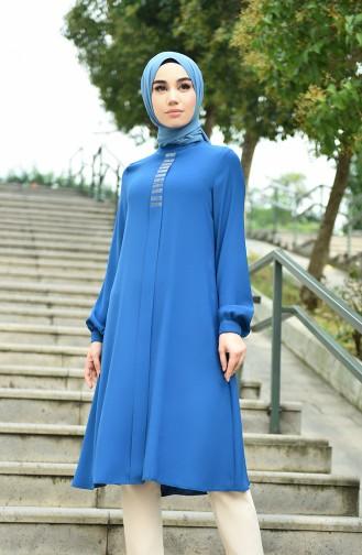 Oil Blue Tunic 8042-07