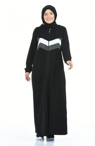 Black Abaya 10014-01