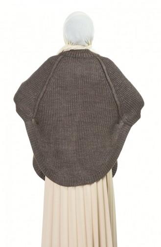 Ponchos Couleur Brun 1005-02