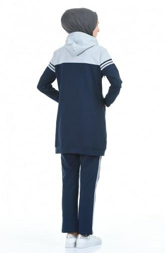 Navy Blue Trainingspak 1056-07