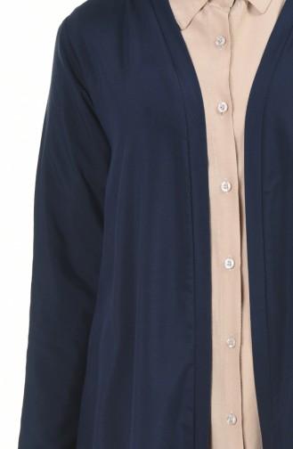 Navy Blue Cardigan 4028-06