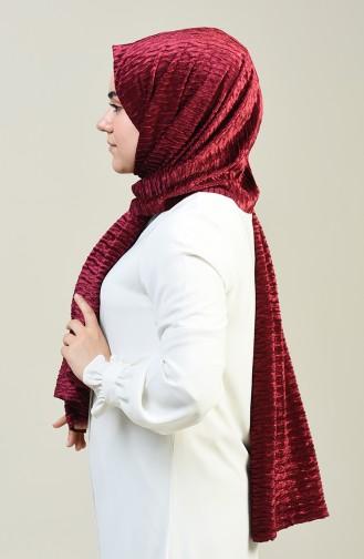 Claret red Sjaal 1056-01