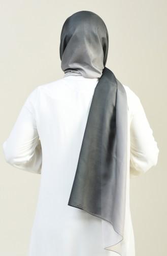 Patterned Cotton Shawl Black 95305-04