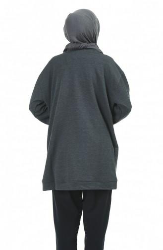 قميص رياضي فحم الإنتراسيت 1000-03