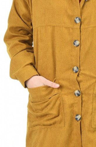 تونيك أصفر خردل 0999-02
