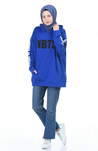 قميص رياضي أزرق 1005-05