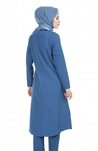 Light Navy Blue Tuniek 6384-14