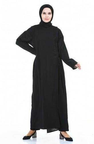Black Abaya 0096-02