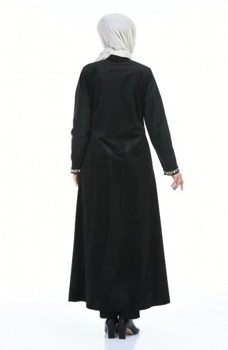 Black Abaya 8382-01