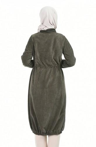 معطف طويل كاكي 5132-01