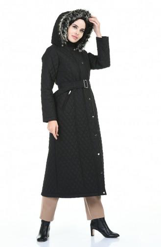 معطف أسود 504219-04