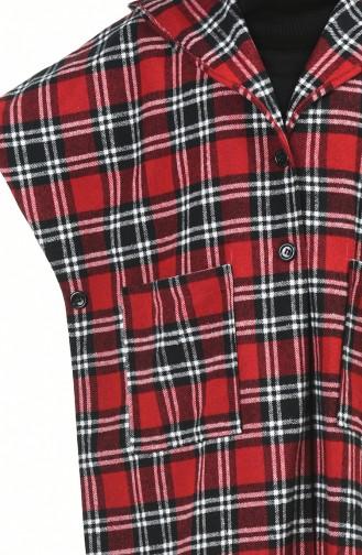 Ponchos Rouge 9004A-01
