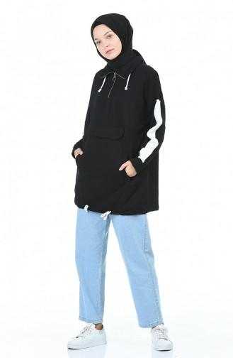 قميص رياضي أسود 0992-02
