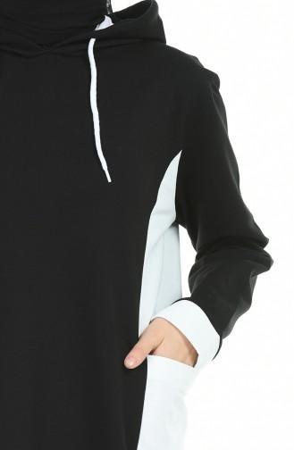 قميص رياضي أسود 1009-04