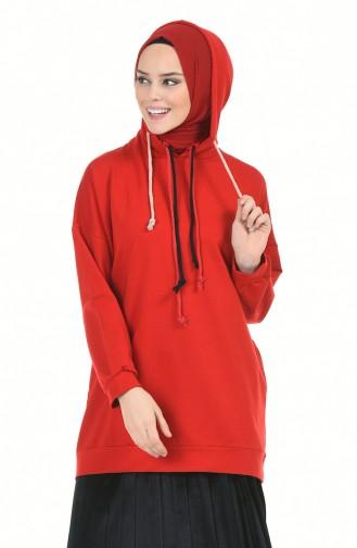 قميص رياضي أحمر 1014-01