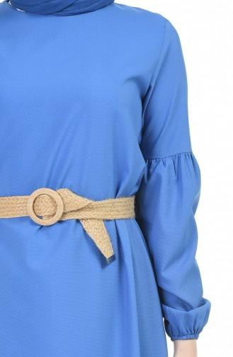 فستان نيلي 4527-08
