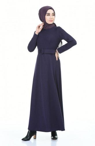 Lila Hijap Kleider 5062-02
