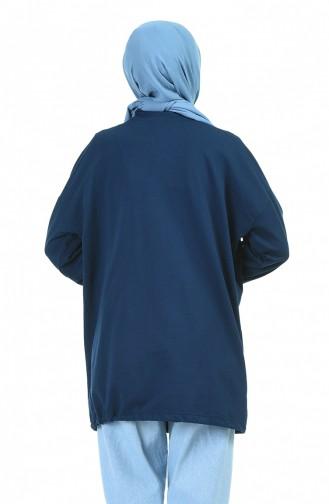 قميص رياضي أزرق كحلي 1002-03