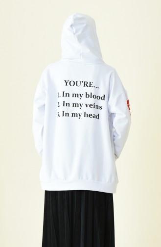 قميص رياضي أبيض 1005-03