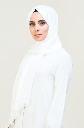White Sjaal 4536-15