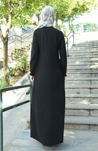 فستان أسود 8025-02