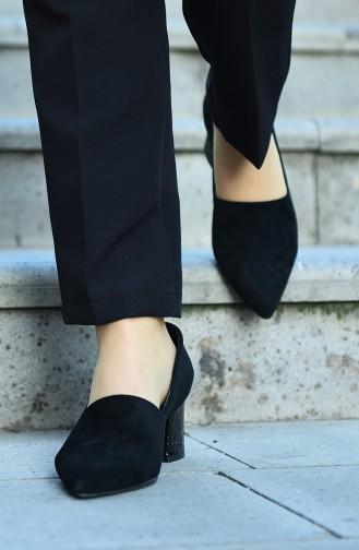 Chaussures a Talons Noir 29510-01