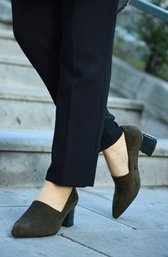Green Heeled Shoes 29510-03