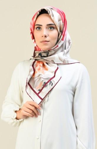 وشاح وردي حلوى 2397-13