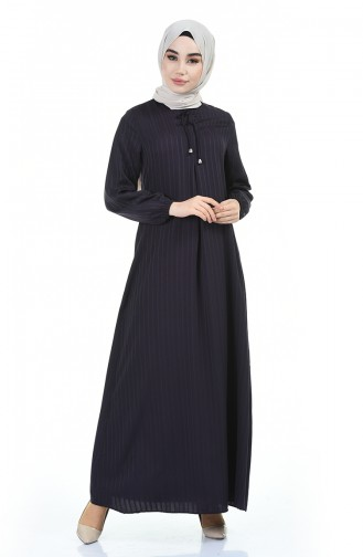 Robe Hijab Pourpre 0552-07