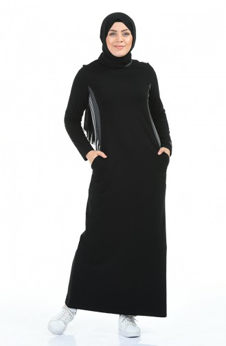 فستان أسود 99226-01