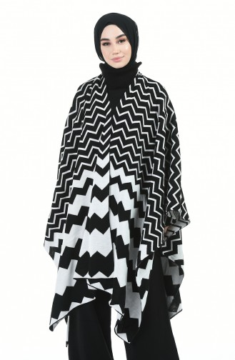 Ponchos Noir 1010-02