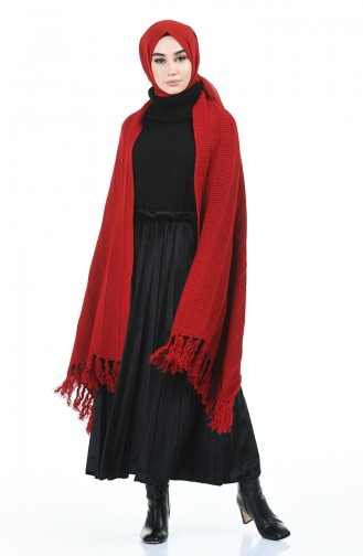Red Poncho 1008-04