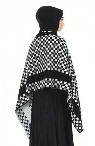 Ponchos Noir 1009D-02