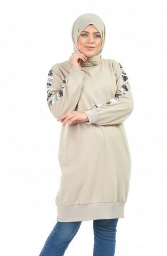 Beige Sweatshirt 3246-02