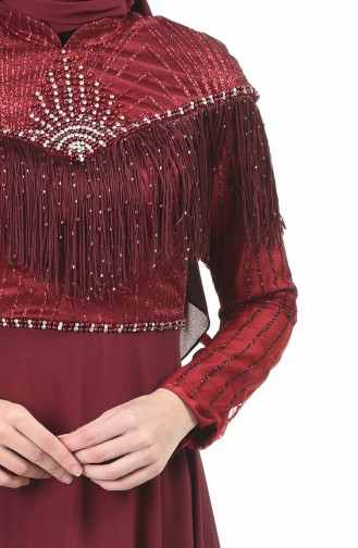 Habillé Hijab Bordeaux 9201-02