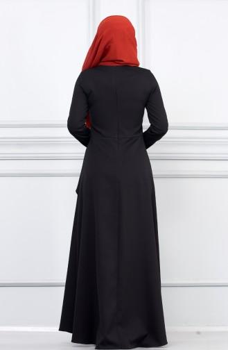 Robe Hijab Noir 5041-07