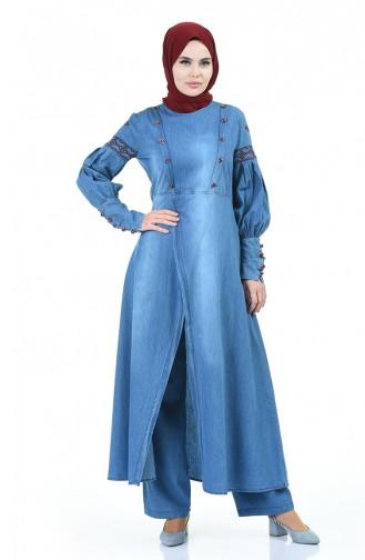 تونيك أزرق جينز 9586-01