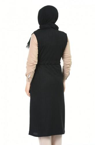 Gilet Sans Manches Noir 4013-01