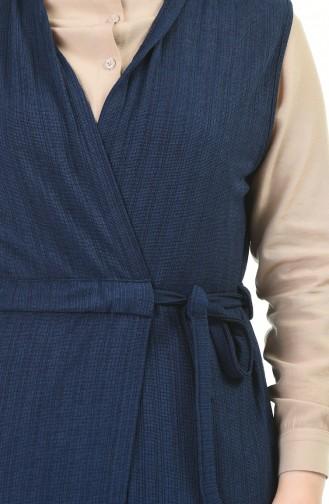 Gilet Sans Manches Bleu Marine 4013-06