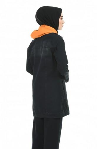 Schwarz Jacke 6063-02