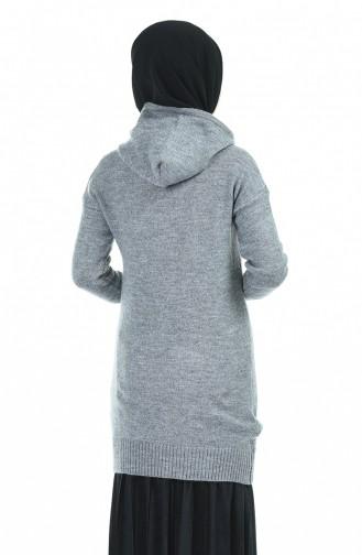 Grau Pullover 0515-03