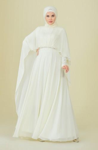 Habillé Hijab Crème 9202-02
