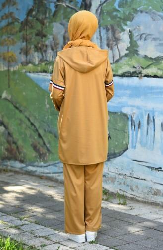 Mustard Sweatsuit 8067-07